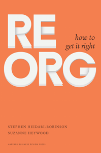 Image of the Reorg book's front cover